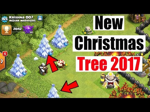 (HINDI) Clash of Clans New Christmas Tree 2017 NEW UPDATE
