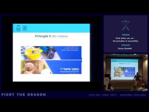 JAB17 - Think before you act - the principles of accessibility