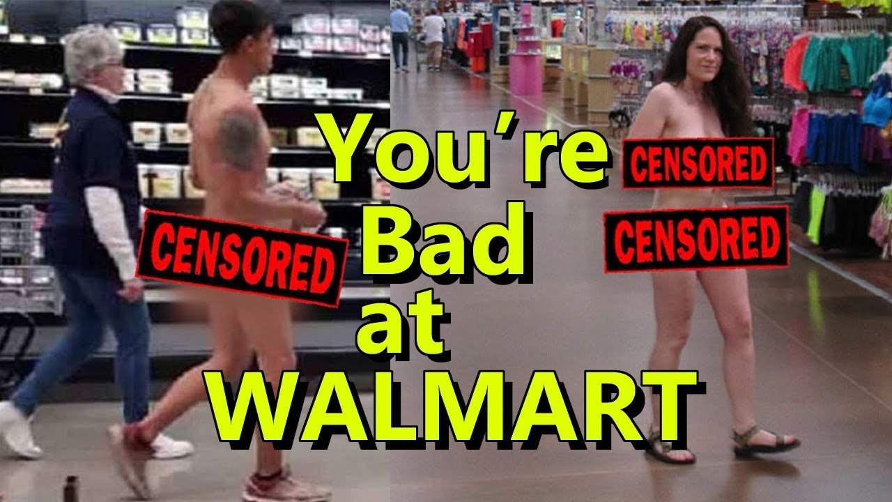 d0d9e3141114f You re Bad at Walmart!  18 - YouTube