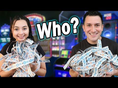 Who WON more TICKETS?