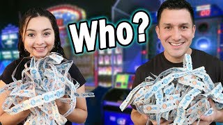 Who WON more TICKETS? - Arcade Ticket Off