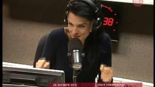 Ольга Романовская на радио Маяк