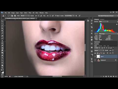 How To Make Perfect Lip Lines In Photoshop