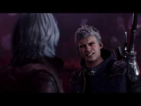 Неро узнает, что Вергилий его отец  ➤ Devil May Cry 5