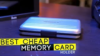 BEST CHEAP Memory Card Carrying Case | Honsky Card Holder