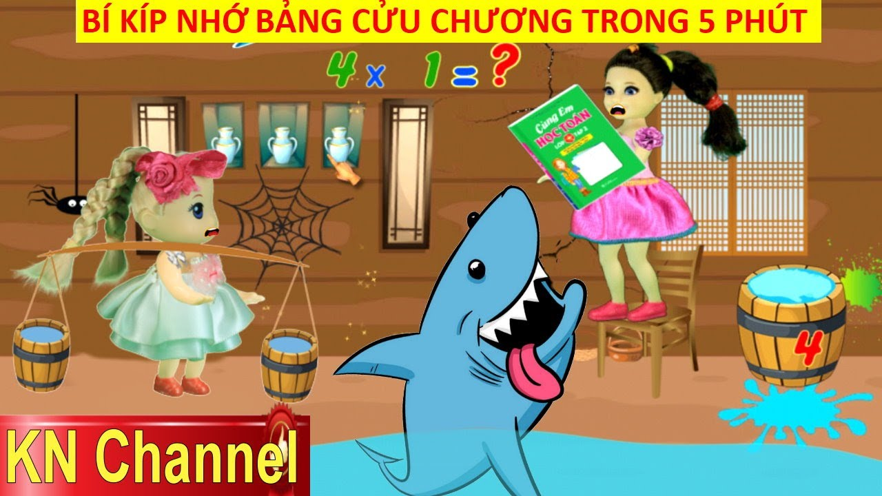 Download BÍ KÍP NHỚ BẢNG CỬU CHƯƠNG CỰC NHANH BẰNG TRÒ CHƠI Math For Kids 2 KN Channel VUI NHỘN THÔNG MINH