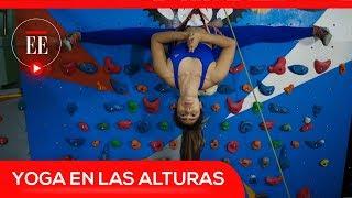 """Yoga en el aire: así es el """"climbing yoga""""   El Espectador"""