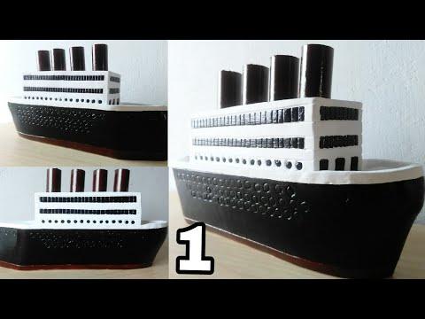 how to make titanic very easy youtube