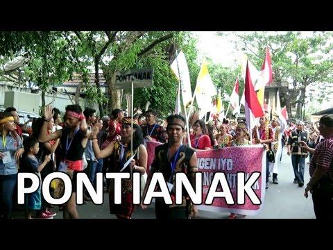 Indonesian Youth Day (IYD) 2016, KEUSKUPAN AGUNG PONTIANAK