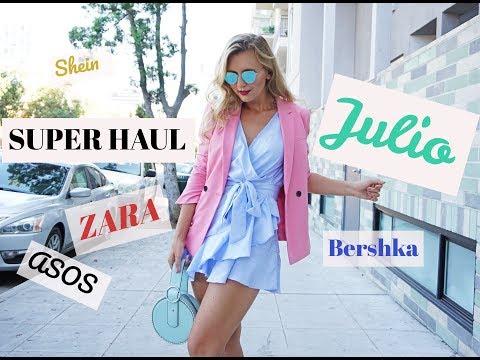 SUPER HAUL SEGUNDAS REBAJAS:  ZARA, BERSHKA, H&M, ASOS, SHEIN, WARBY PARKER
