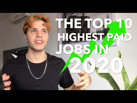 The Top 10 Highest Paying Jobs In 2020 (Australia)
