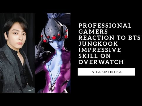 Professional Gamers Reaction To BTS Jungkook Impressive Skill On Overwatch