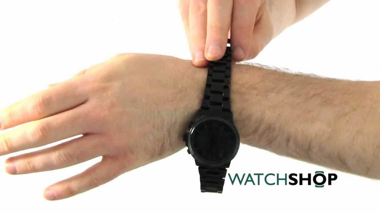 fa51e82bb57 Men s Citizen Nighthawk Chronograph Eco-Drive Watch (CA0295-58E) - YouTube