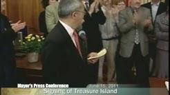 Mayor Edwin M. Lee Signs Landmark Treasure Island Legislation