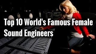 Famous Female Audio Engineers