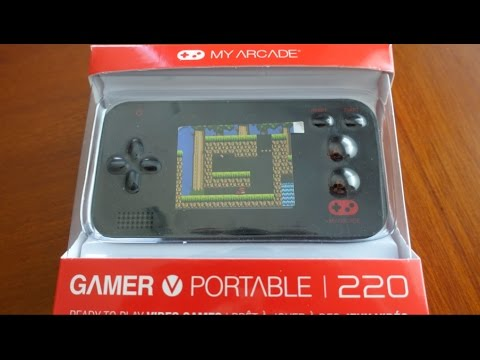 Dreamgear Gamer V Portable My Arcade 220 Review Youtube