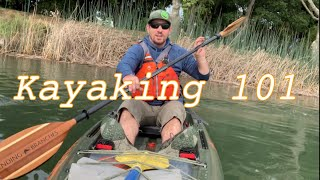 Kayaking 101: How to Forward Stroke, Sweep Stroke, and Edge