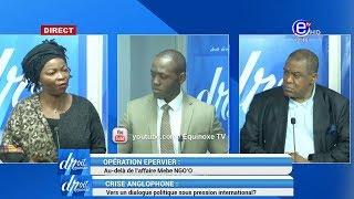DROIT DE RÉPONSE ( Opération épervier Mebe NGO'O/ Crise Anglophone) EQUINOXE TV