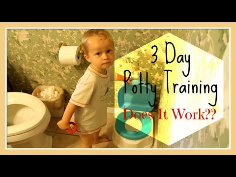 3 day potty training lora jensen
