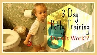 3 Day Potty Training...Does It Work?