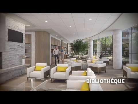 Visite virtuelle - Caléo, résidence pour retraités - Boucherville - Le Groupe Maurice