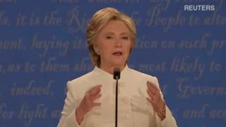 Дебаты Хиллари Клинтон и Дональда Трампа  третий тур  20 10 2016 (перевод)