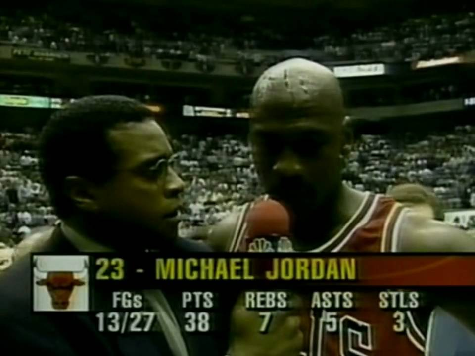 "MICHAEL JORDAN: "" The Flu Game "" (1997 NBA Finals - Game 5) HD - YouTube"