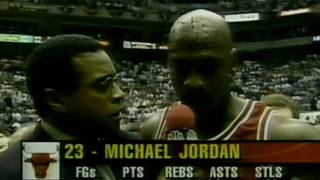 "MICHAEL JORDAN: "" The Flu Game ""  (1997 NBA Finals - Game 5) HD"