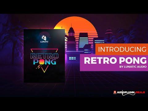 Lunatic Audio - Retro Pong - Trailer