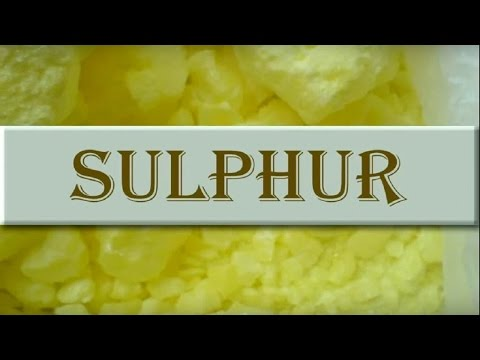 Properties And Uses Of Sulphur - Iken Edu
