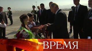 Российско-туркменские переговоры навысшем уровне состоялись вАшхабаде.