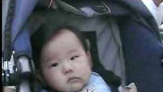 unco chin teaches baby life long lesson