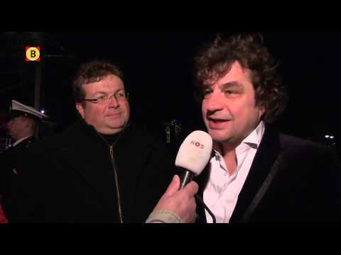 Drukbezochte première Michiel de Ruyter met Frank Lammers in Amsterdam