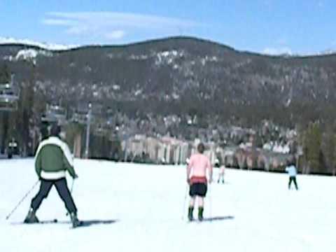 Breckinridge bikini ski