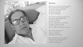 """""""Nombrarte"""" un poema en Esperanto."""