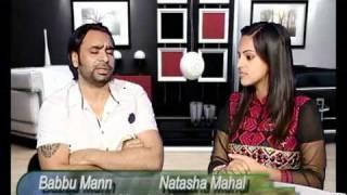Babbu Mann Interview With Natasha Mahal On Vision Of Punjab punjabi latest