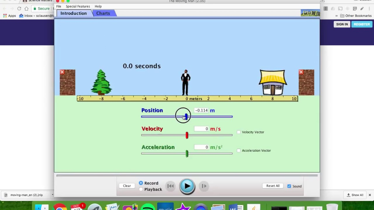 Sub Plan 10 18-PhET: Activity Moving Man