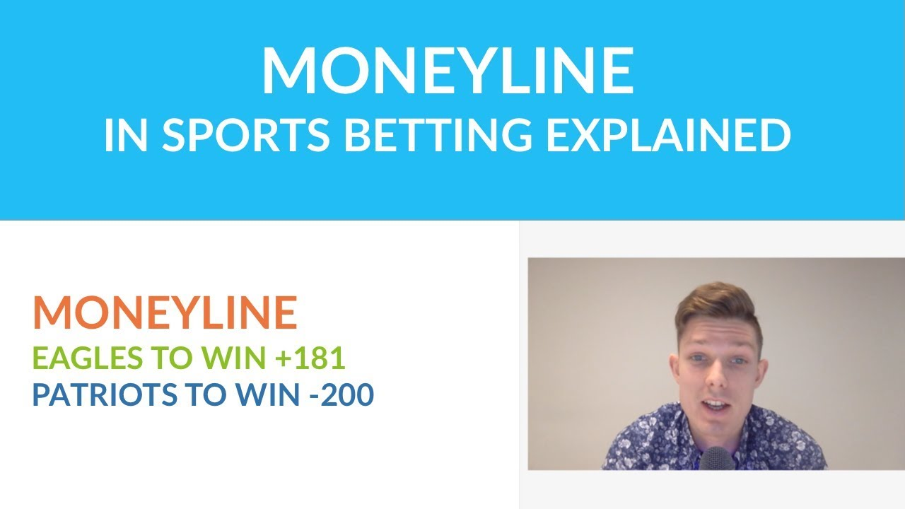 How does the moneyline sports bet work exacta wheel betting calculator money