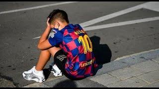 آخر أخبار ما يعرف بقضية رحيل ميسي عن برشلونة