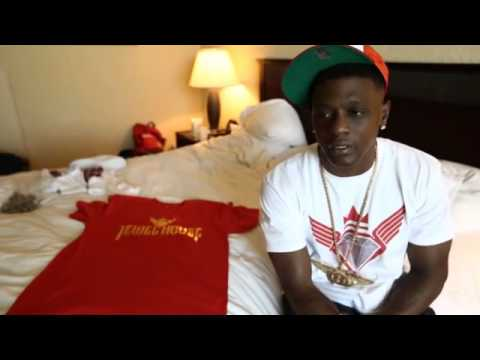 Lil boosie speaks on his new clothing line