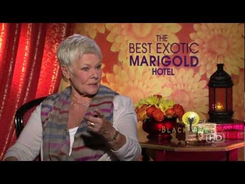 Judi Dench talks about her challenges of her character in The Best Exotic Marigold Hotel