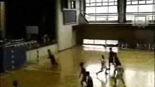 中学ハンドボール2007尾北カップ男子準決勝前半2