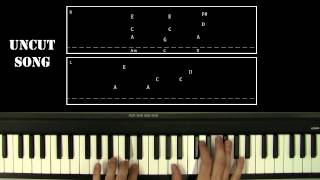Piano Lesson: Johnny Cash - Hurt / With Tabs