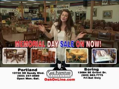 Love, Love, Love This Store! Oak Furniture Warehouse In Portland Oregon