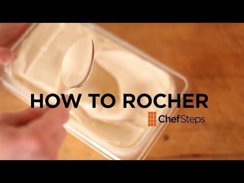 ¿Queréis saber cómo hacer una quenelle perfecta en cinco segundos?