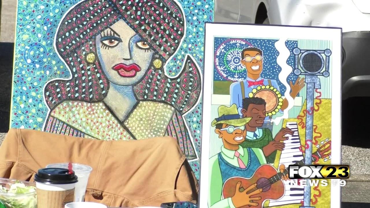Hattiesburg Art Council holds local artist event