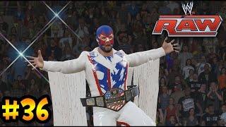 WWE 2K15 - Sr América el Campeón de los Estados Unidos - Poniendo en juego el TITULO ...