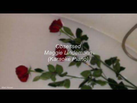 Obsessed - Maggie Lindemann (Piano Karaoke)