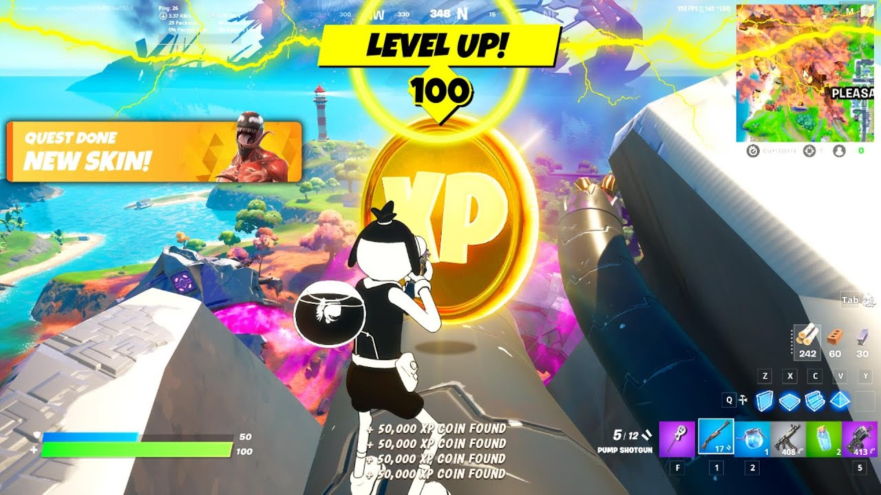 Download Fast XP TRICKS in Fortnite Season 8 (Level Up to Tier 100!)