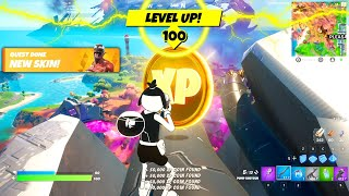 Fast XP TRICKS in Fortnite Season 8 (Level Up to Tier 100!)